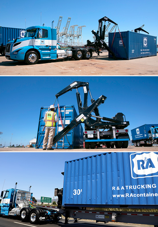R&A Container Lifting -  What is Container Lifting?